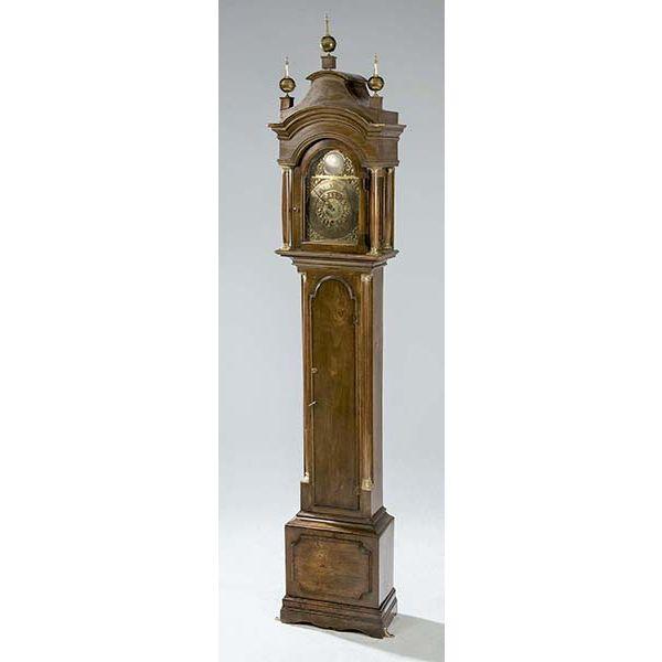 Reloj de caja alta de caoba Diego Evans.