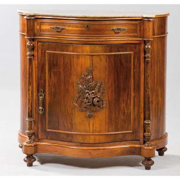 Entredos de madera de caoba ingles, principios del siglo XX.