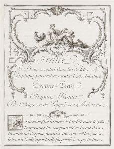 ESCUELA FRANCESA S. XVIII-XIX - Traitè du Beau