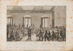 MIGUEL GAMBORINO, SCULPIT - Viva Fernando VII la patria y la religión y muera Napoleón. 1815