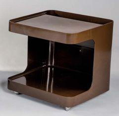 Mueble bar de plástico modelo GAME, Italia, años 60