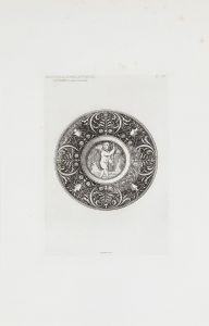 ESCUELA FRANCESA S. XIX - Assiette de Gubbio, S. XVI Assiette de Faenza, S. XVI