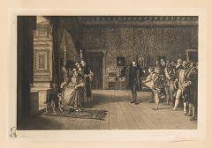 BARTOLOMÉ MAURA MONTANER - Presentación de don Juan de Austria al emperador Carlos V en Yuste